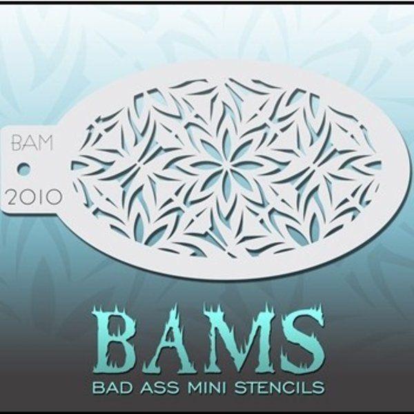 Bad Ass Bams FacePaint Stencil 2010