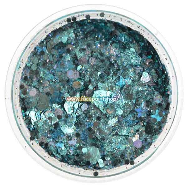 Vivid Chunky Glitter Cream Angelic Ice 7,5gr