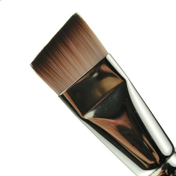 Facepaintshop Short Angular Brush 1 Inch