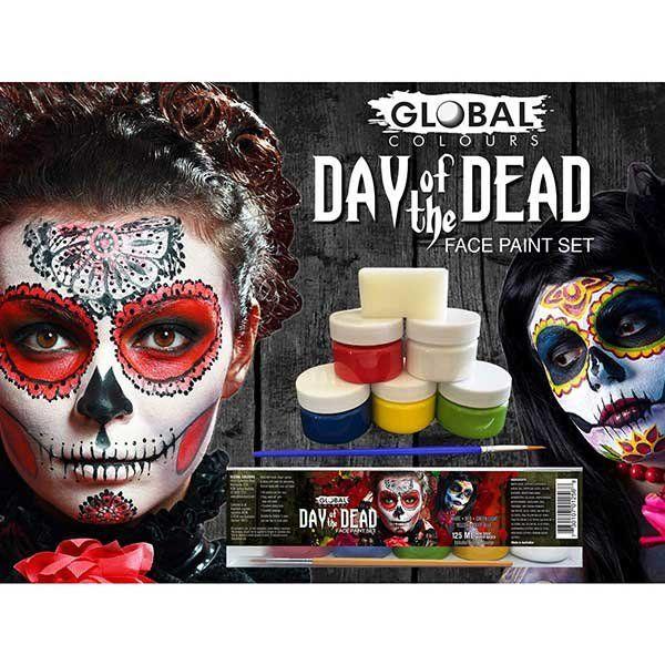 Day Of The Dead Vloeibare Schmink Set