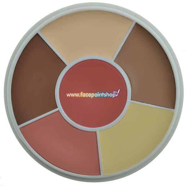 Ben Nye Countour Wheel Light  Cbw-1