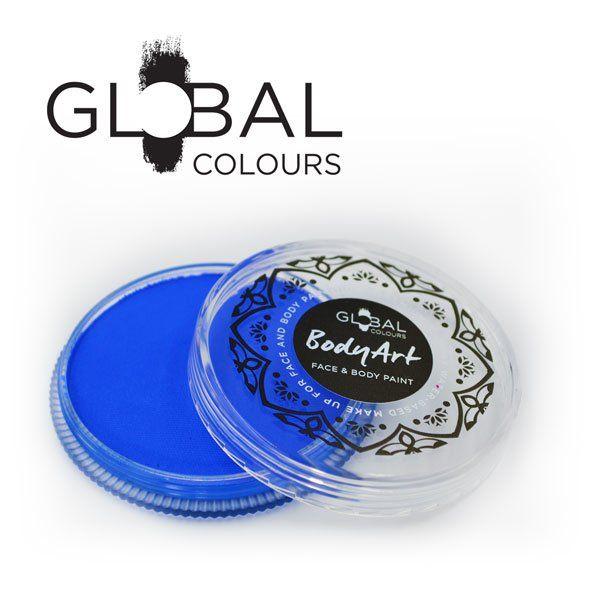 Global Face & Body Paint Fresh Blue 32gr