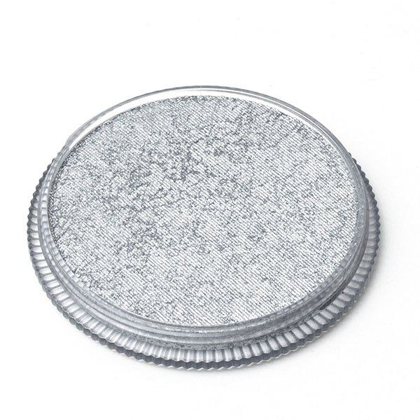 Global Face & Body Paint Metallic Silver 32gr