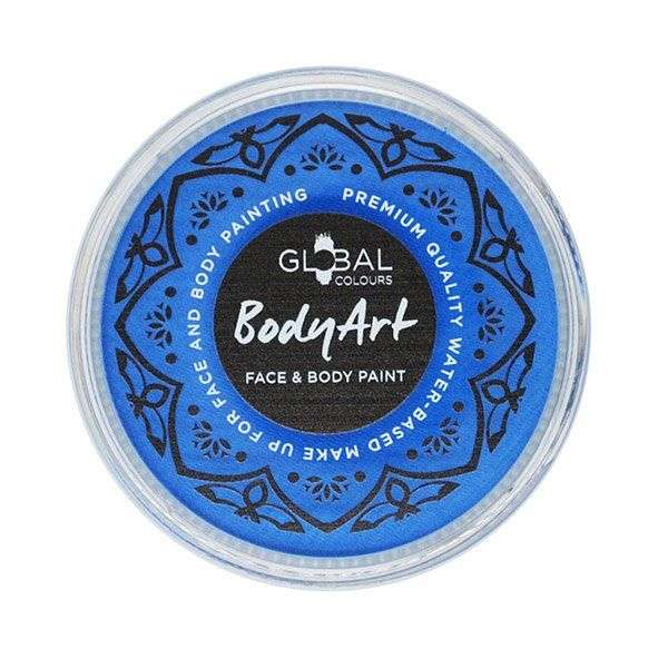 Global Face & Body Paint Neon Blue 32gr