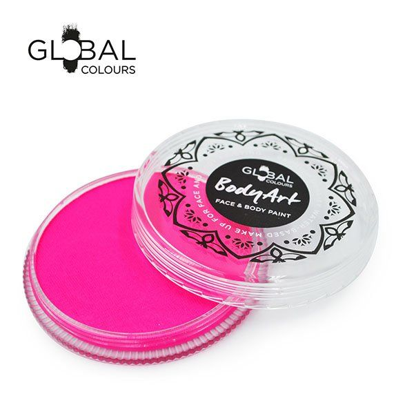 Global Face & Body Paint Neon Magenta 32gr