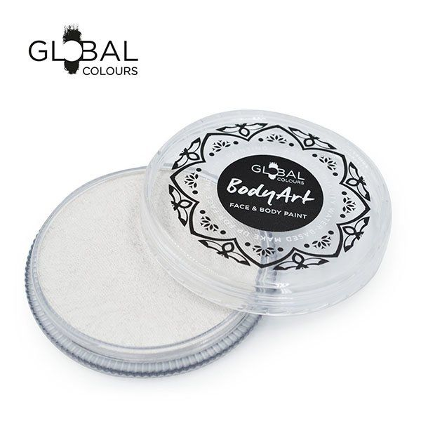 Global Face & Body Paint Neon White 32gr