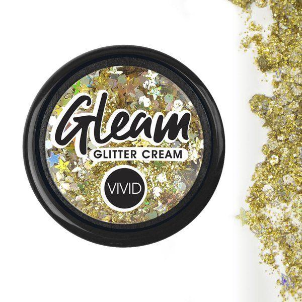 Vivid Chunky Glitter Cream Gold Dust 7,5gr