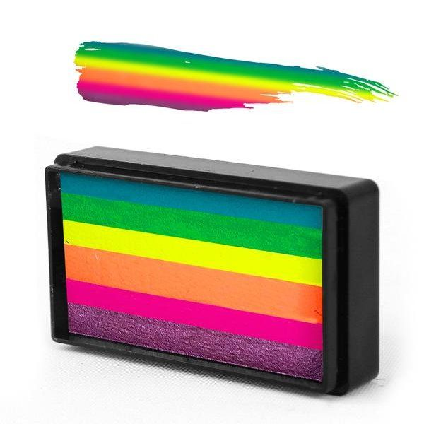 Arty Brush Summer Sorbet Rainbow Cake