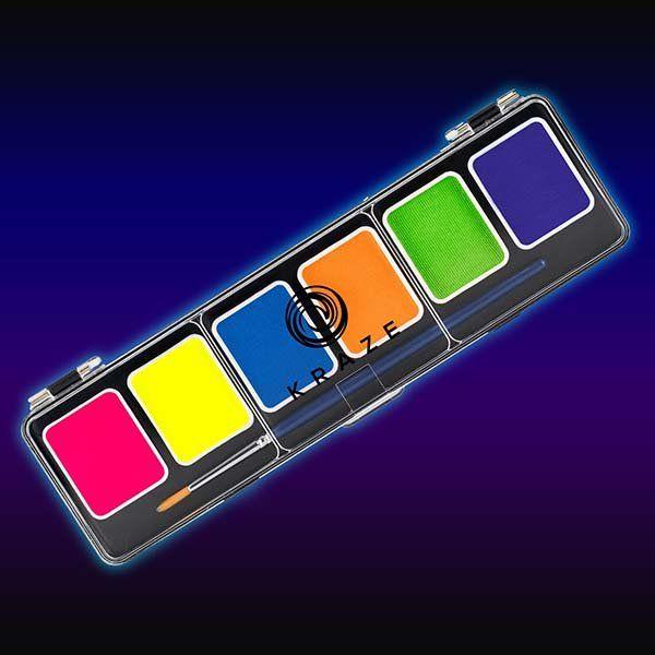 Kraze FX Split Cake Palette - Neon Pop 6x6