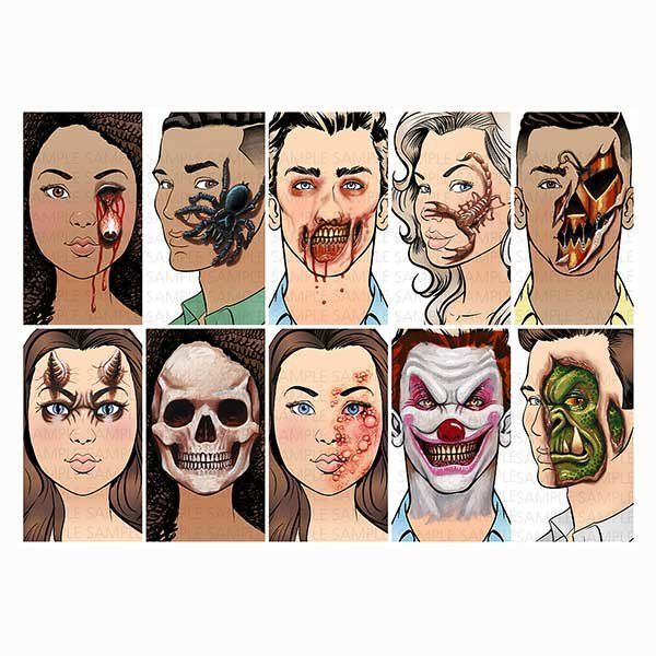 The Ultimate Face Painting Guide By Matteo/Scary Halloween