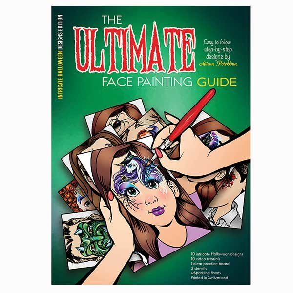 The Ultimate Face Painting Guide By Milena/Intricate Halloween