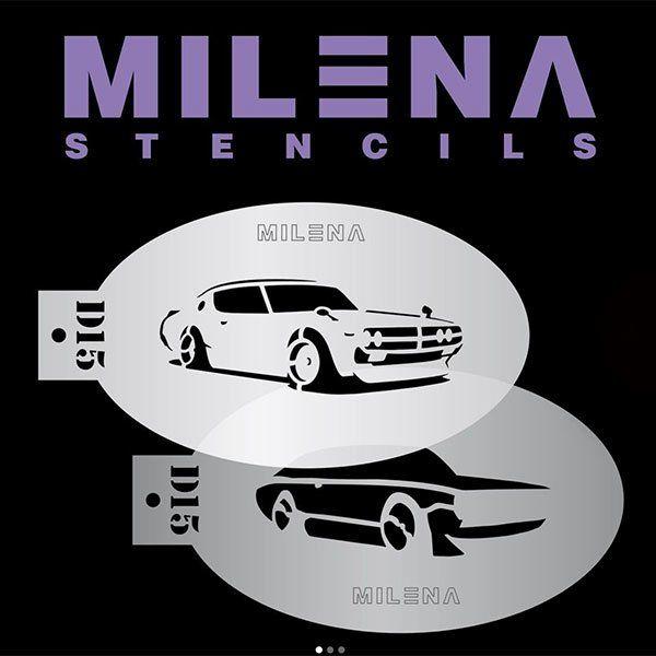 Milena Double Stencil Auto D15