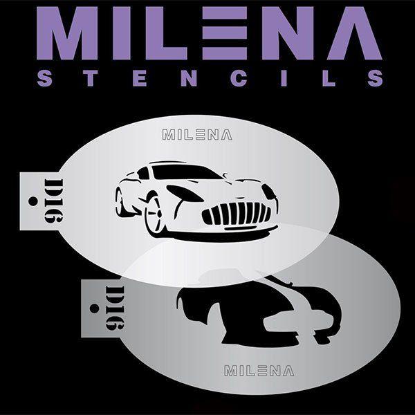 Milena Double Stencil Auto D16