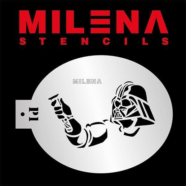 Milena Stencil Starwars P1
