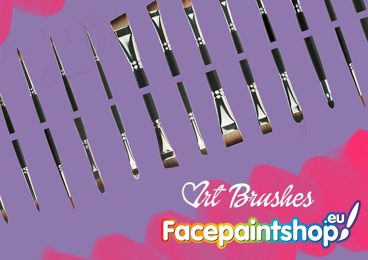 Hoe gebruik je onze schmink penselen?