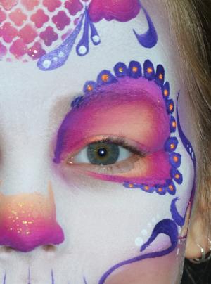 Populair Schminkvoorbeelden - Facepaintshop #IX45
